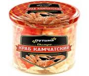 "Мясо Камчатского краба, LUX ""ЭКСТРА"" 510г."