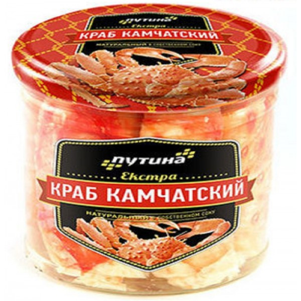 "Мясо Камчатского краба ""LUX"""